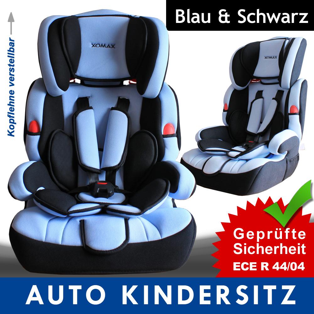 autokindersitz 9 36kg gruppe 1 2 3 blau kinderautositz autositz kindersitz ebay. Black Bedroom Furniture Sets. Home Design Ideas